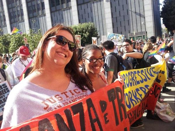 pina and toody at march
